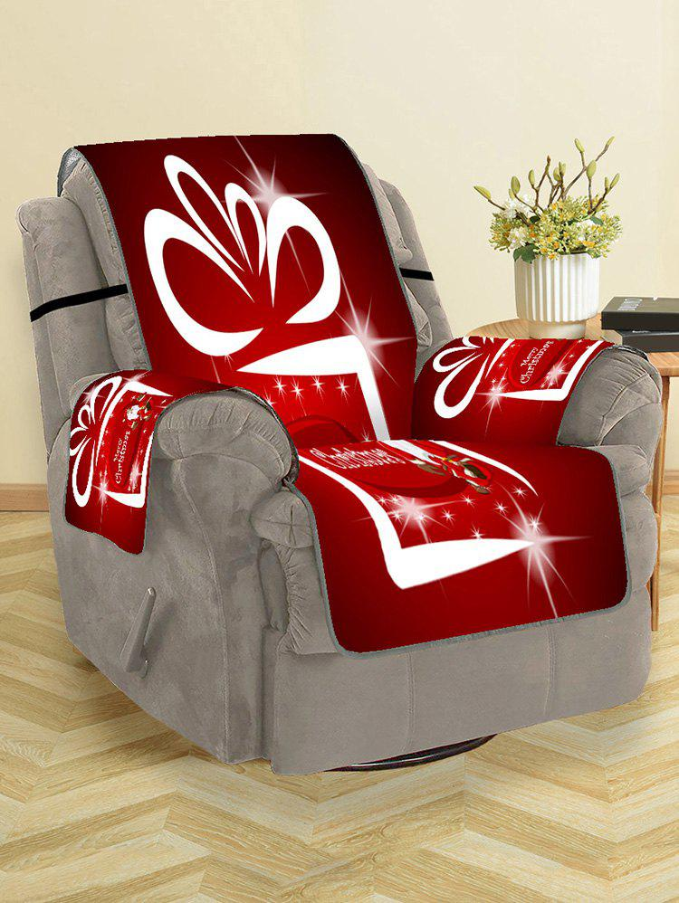 New Father Christmas Printed Couch Cover