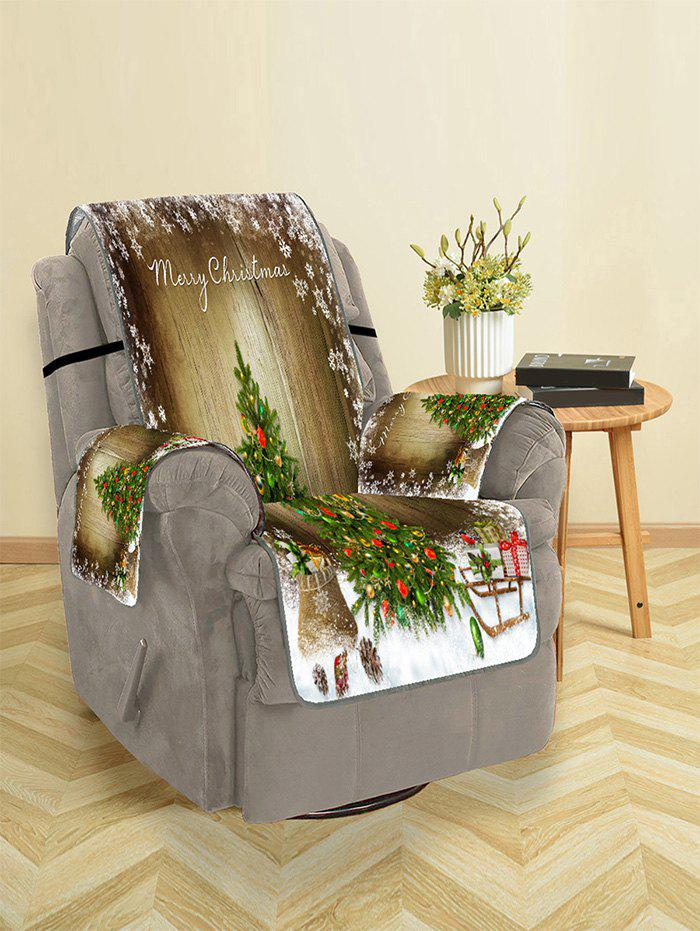 Best Merry Christmas Tree Gift Pattern Couch Cover