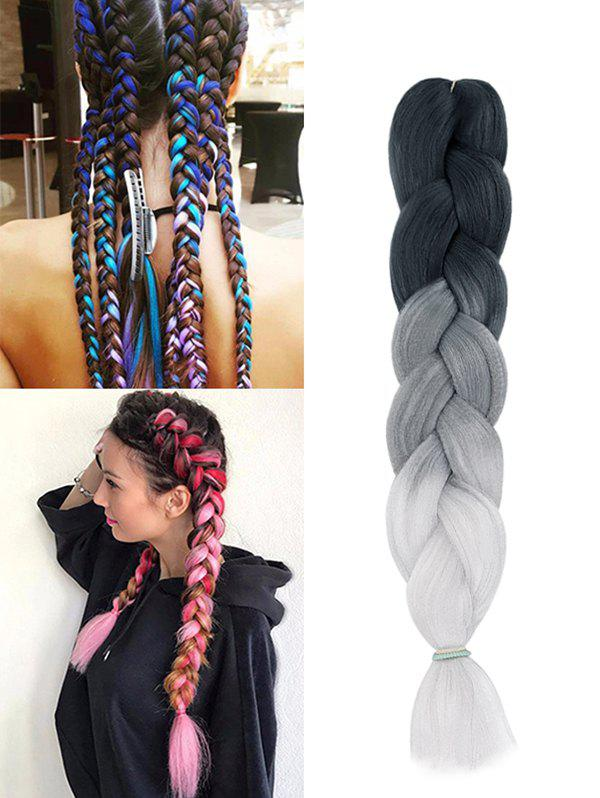 Outfits Long Ombre Big Braid Hair Extension