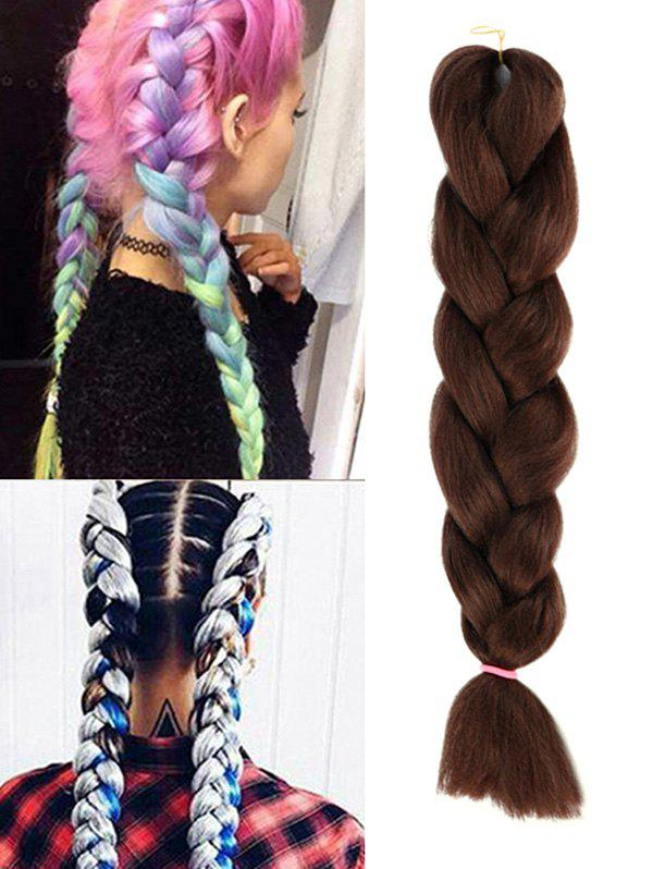 Cheap Synthetic Big Braid Hair Extension