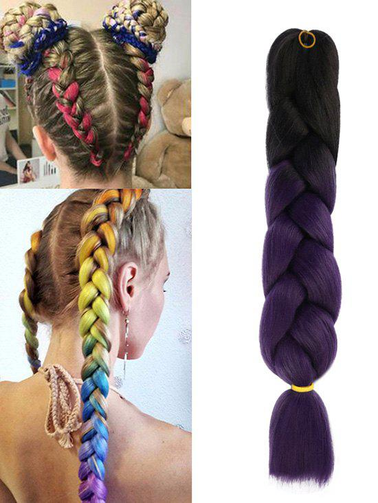 Shop Synthetic Long Colorful Big Braid Hair Extension