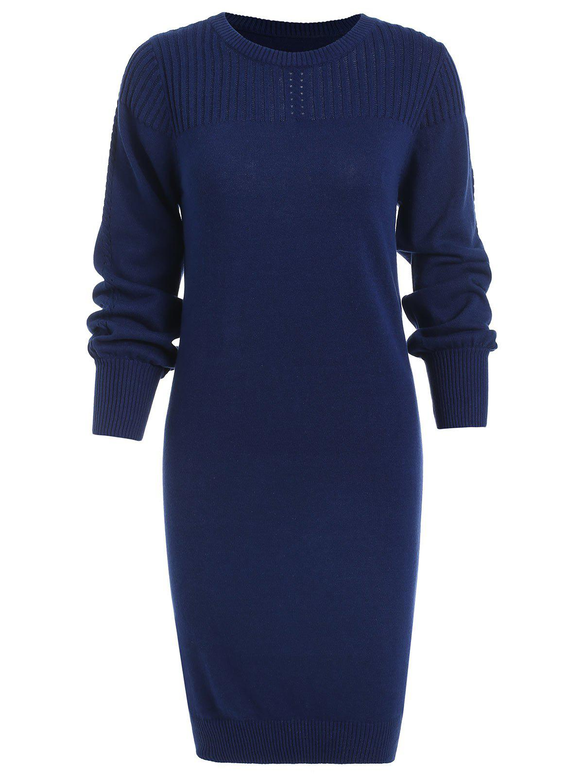 Best Long Sleeve Mini Knitted Dress