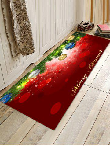 Baubles Pattern Non-slip Area Rug