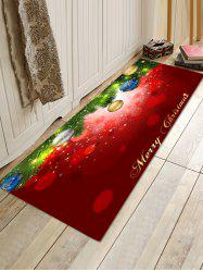 Baubles Pattern Non-slip Area Rug -