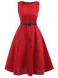 Polka Dot Ball Gwon Dress -