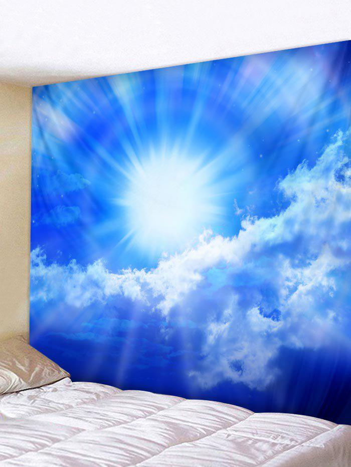 Unique Blue Sky Sunlight Print Wall Hanging Art Tapestry