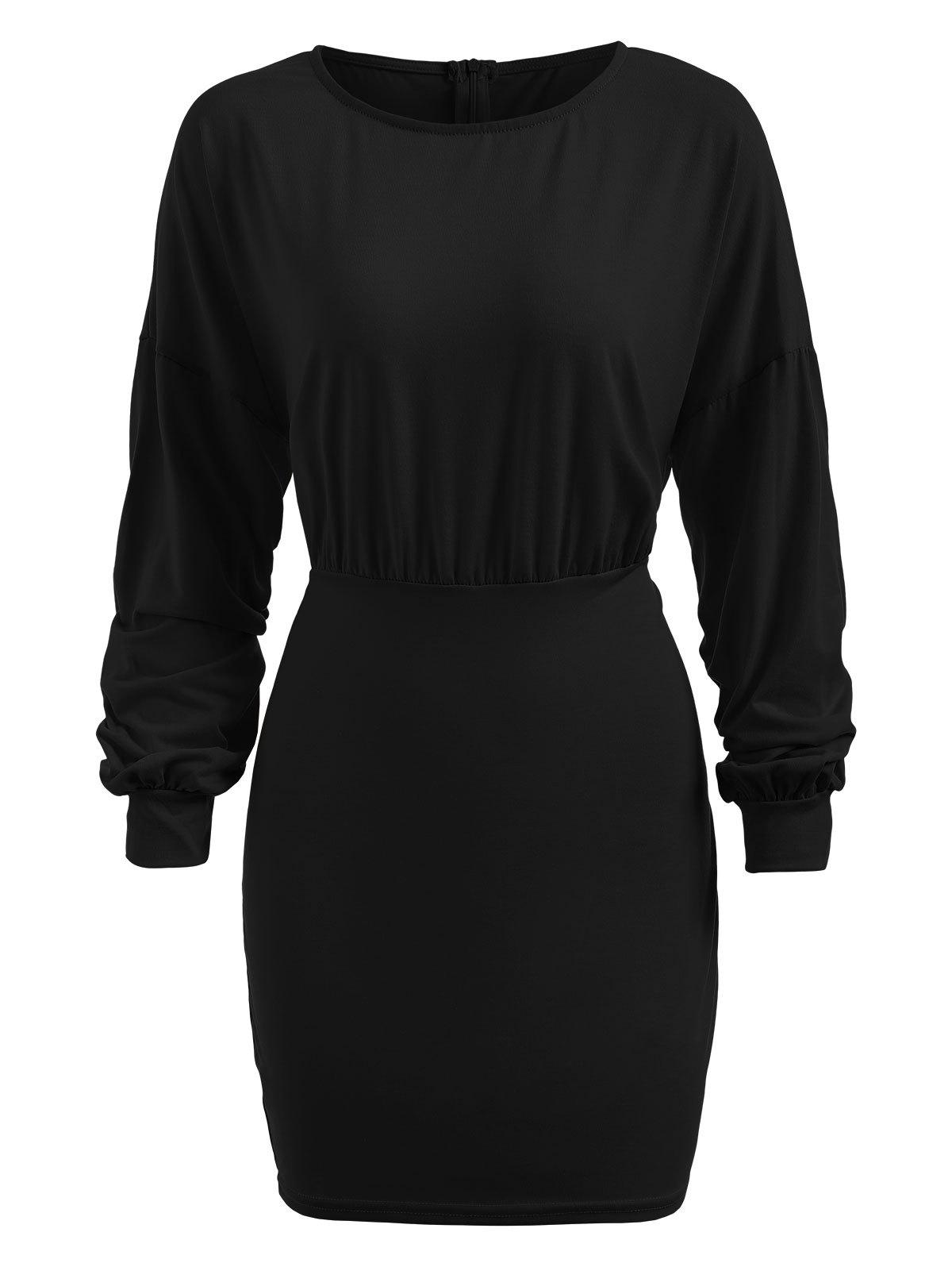 Shops Empire Waist Knitted Bodycon Dress