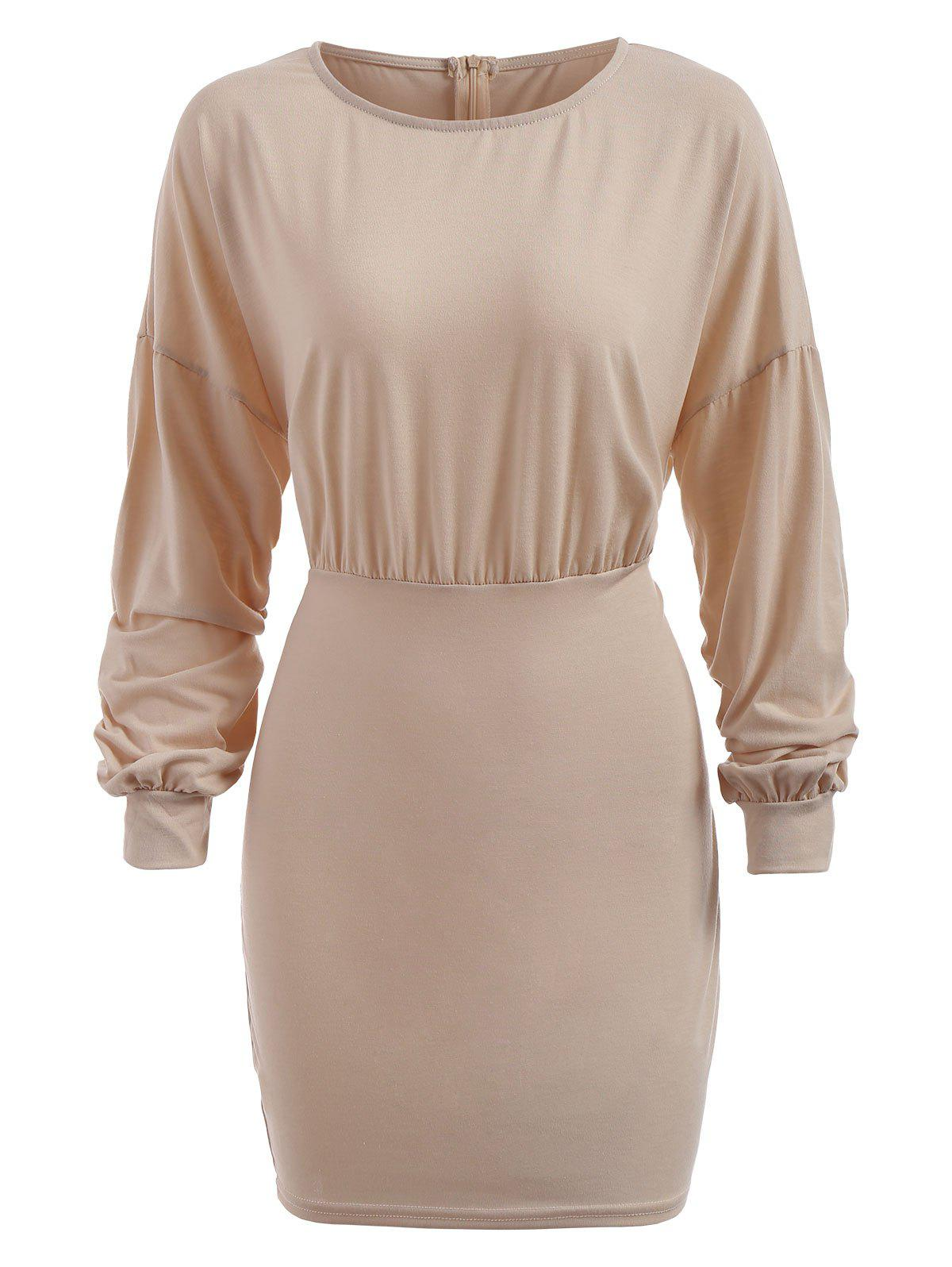 Outfits Empire Waist Knitted Bodycon Dress