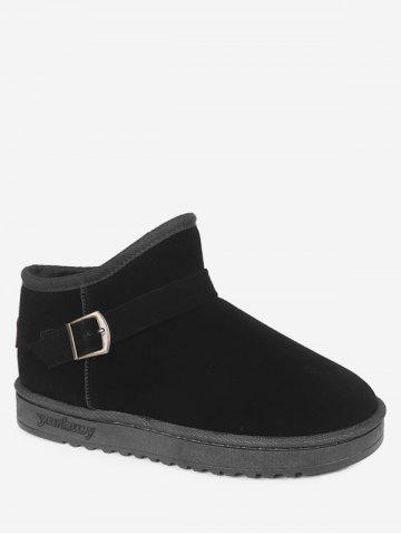 Buckle Ankle Snow Boots