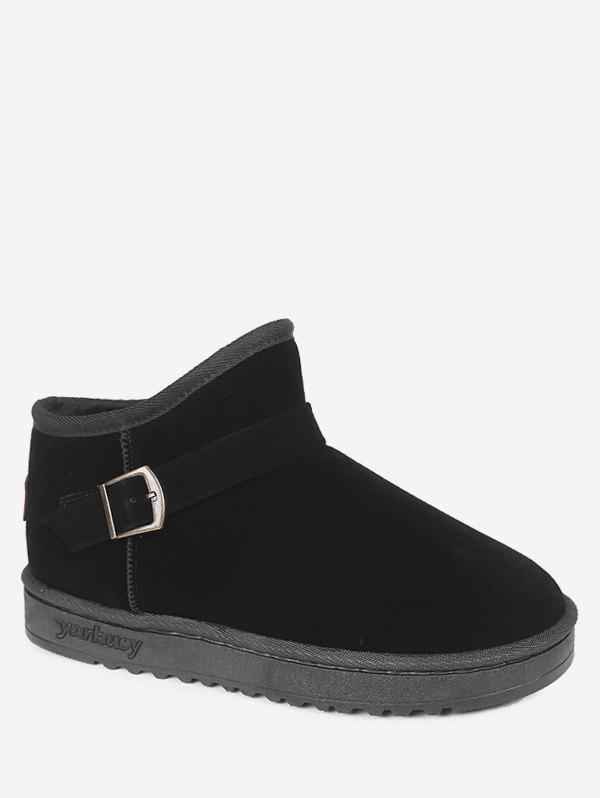 Affordable Buckle Ankle Snow Boots