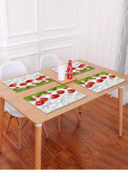 Christmas Balls Pattern Placemat -