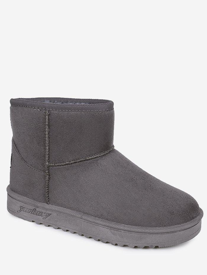 Discount Mid Calf Suede Snow Boots
