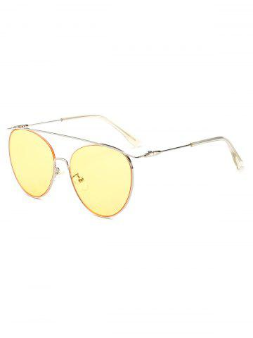 a72996a1d19 UV Protection Crossbar Pilot Sunglasses