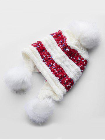Thick Ear Protection Knitted Bucket Hat