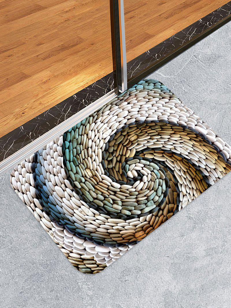 Shop 3D Cobblestone Printed Floor Mat
