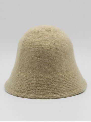 British Style Solid Color Bucket Hat