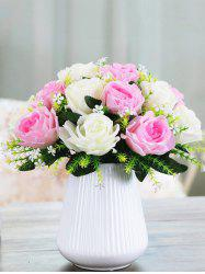 Artificial Rose Flowers Home Decoration -