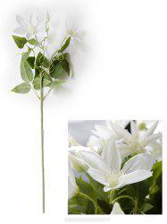 Home Decoration Artificial Clematis Flowers -