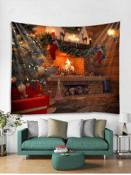 Christmas Theme Pattern Tapestry Art Decoration -