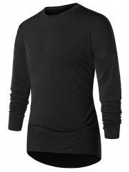 Faux Twinset Drop Shoulder T-shirt -