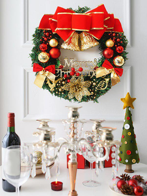 Discount Bowknot Baubles Letters Christmas Garland