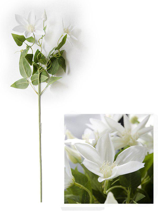 New Home Decoration Artificial Clematis Flowers