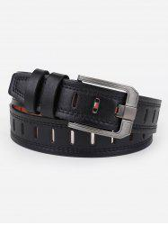 Hollow Out Faux Leather Waist Belt -