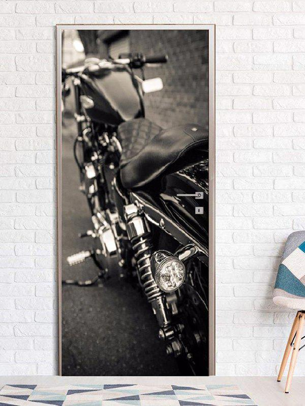 Best Motorbike Print Door Art Stickers