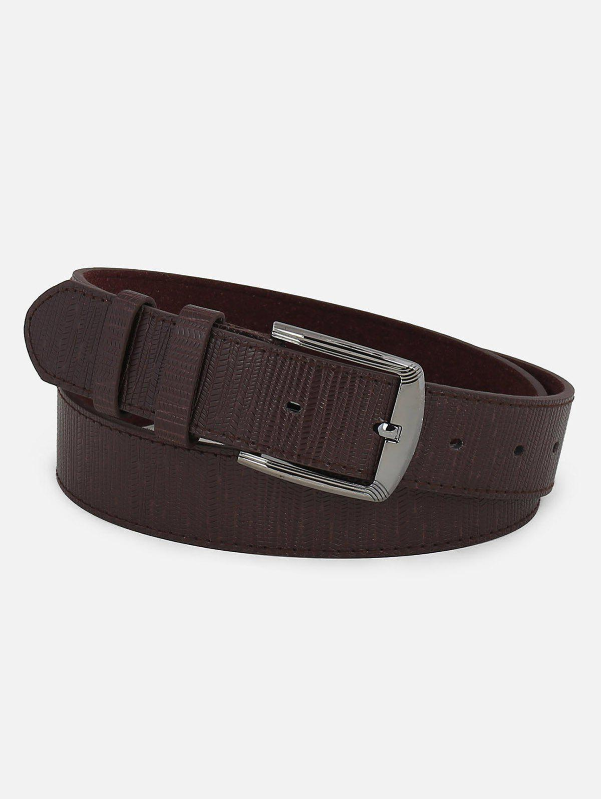 Trendy Fashion Faux Leather Pin Buckle Belt