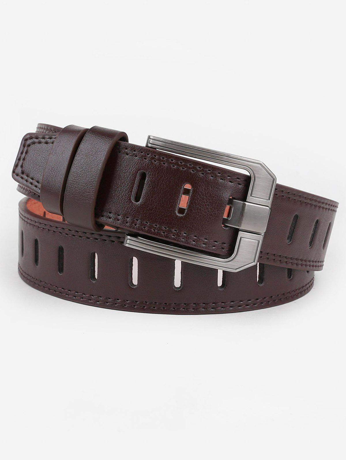 Affordable Hollow Out Faux Leather Waist Belt
