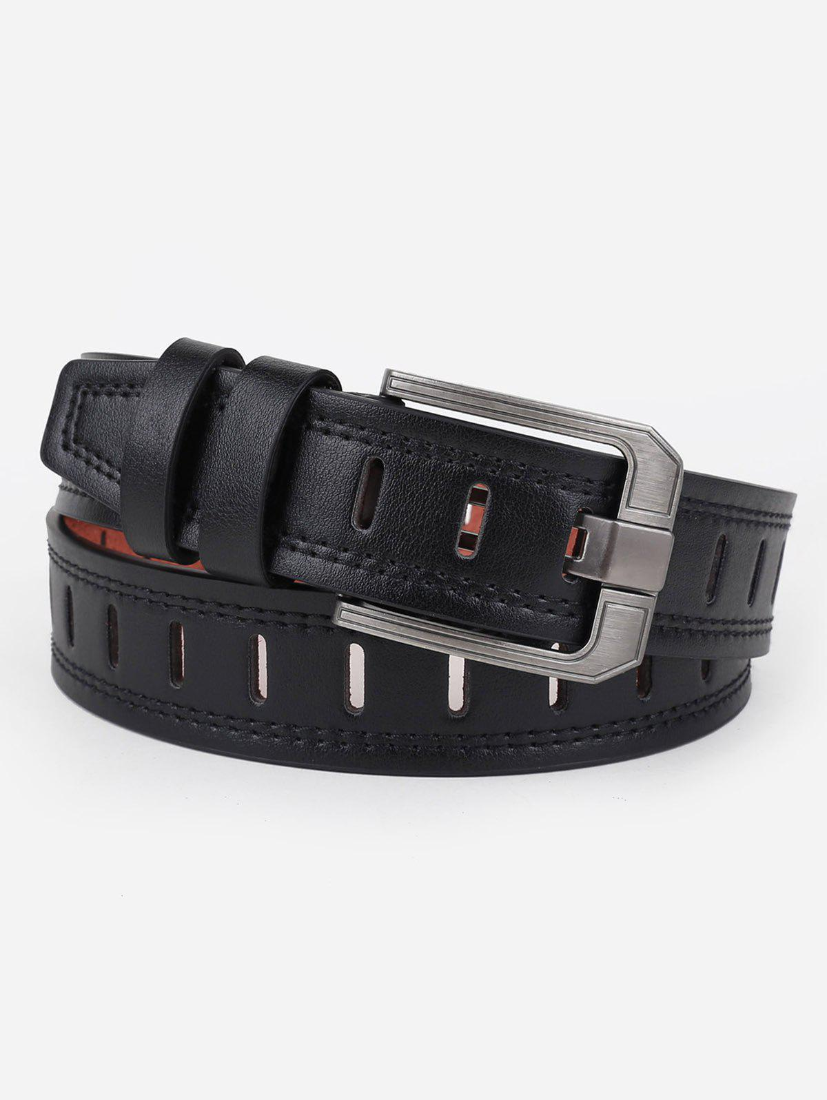 Buy Hollow Out Faux Leather Waist Belt