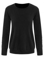 Button Long Sleeve Tee -