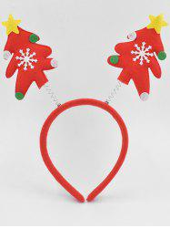 Christmas Tree Party Hair Hoop -