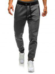 Long Drawstring Elastic Casual Jogger Pants -