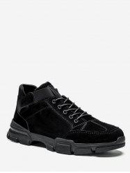 Mid Top Sewing Lacing Sneakers -
