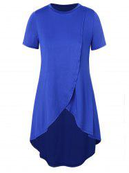 Top taille haute taille basse - Bleu 1X