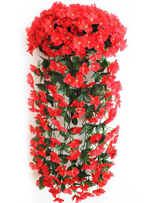 New Violet Wall Hanging Artificial Vine Flowers