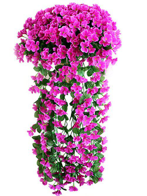 Latest Violet Wall Hanging Artificial Vine Flowers