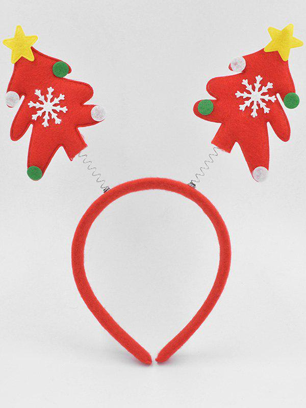 Fashion Christmas Tree Party Hair Hoop