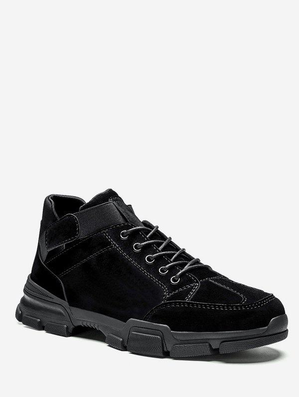New Mid Top Sewing Lacing Sneakers