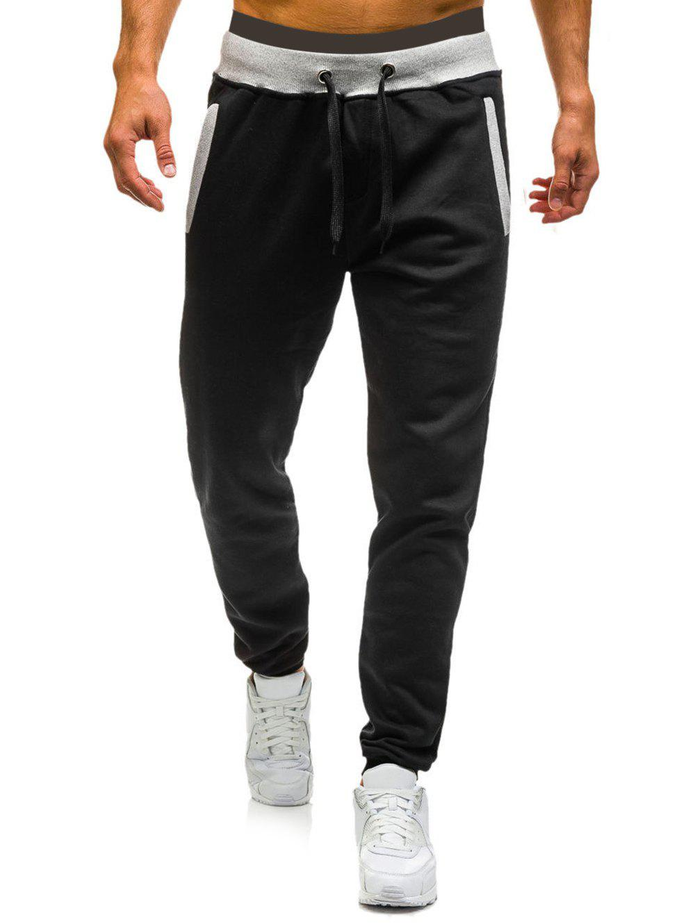 Fashion Long Drawstring Elastic Casual Jogger Pants