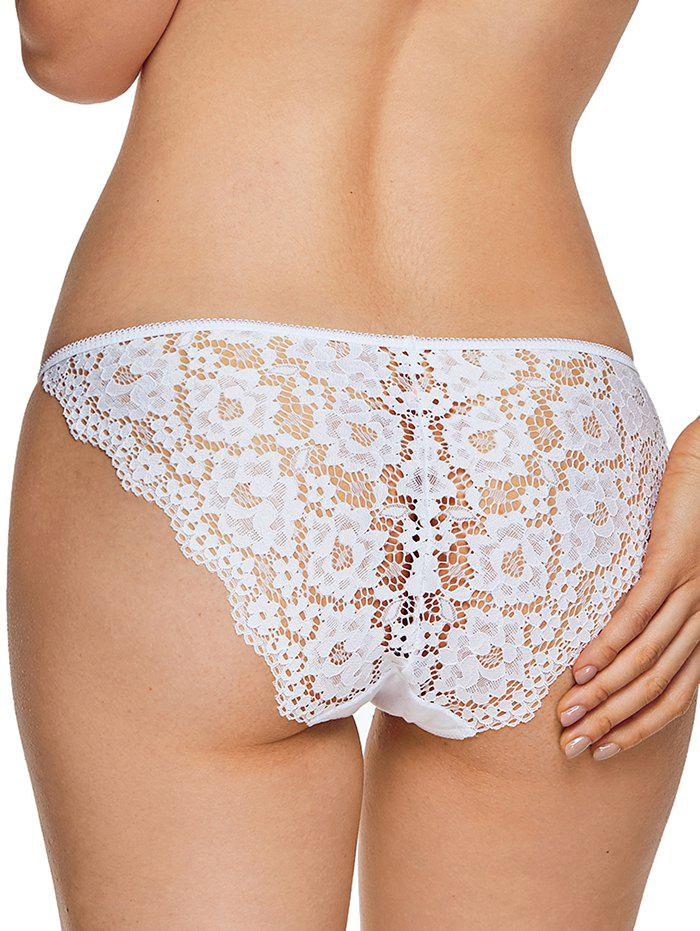 Cheap Lace Insert String Panties