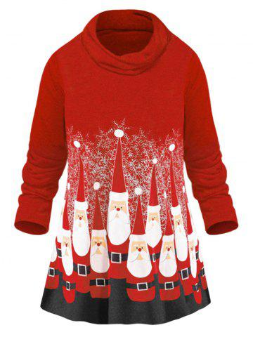 cee8686e6 Christmas Tops - Tunic, Long Sleeve And Red Cheap With Free Shipping