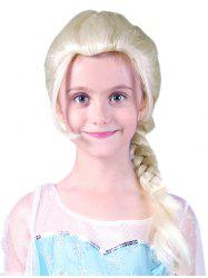Medium Braids Party Cosplay Synthetic Wig for Kids -