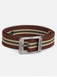 Casual Student Canvas Pin Buckle Belt -