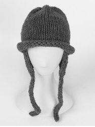 Solid Color Knitted Winter Beanie -