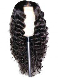 Long Middle Part Loose Wave Synthetic Lace Front Wig -