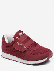 Hook Loop Low Top Walking Sneakers -