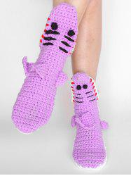 Cartoon Animal Knitted Winter Socks -