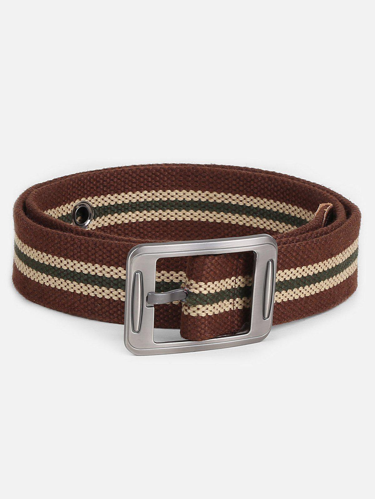 Shop Casual Student Canvas Pin Buckle Belt